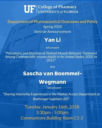 Seminar announcement